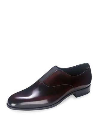 Prada Cordovan Slip-On Loafer, Burgundy $895 thestylecure.com