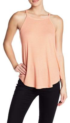 Tart Ribbed Knit Racerback Tank Top