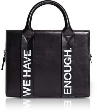 Corto Moltedo Costanzita Leather We Have More Than Enough Tote Bag