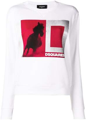 DSQUARED2 long sleeved sweater