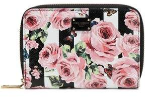 Dolce & Gabbana Printed Textured-leather Wallet