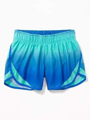 Old Navy Go-Dry Cool Mesh-Trim Run Shorts for Girls