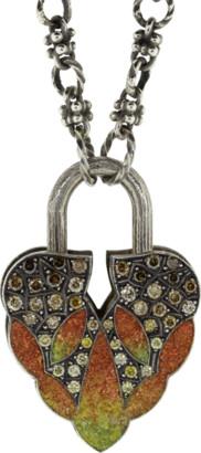 Sevan Biçakci Orange Gradient Aspen Leaf Lock
