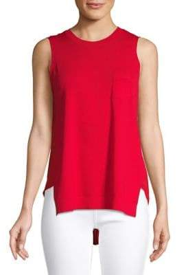 Dex Sleeveless High-Low Top