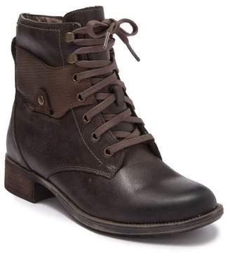 Rockport Copley Waterproof Leather Combat Boot