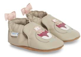 Robeez R) Hello Baby Friends Moccasin Crib Shoe