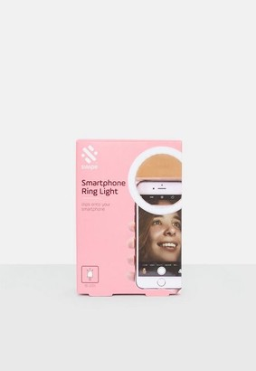Missguided Silver Smartphone Ring Light