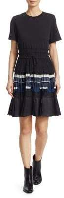 3.1 Phillip Lim Pleated Fit-And-Flare Dress