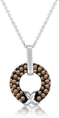 Le Vian Chocolatier LEVIAN CORP Grand Sample Sale by Chocolate Diamonds Pendant in 14k Vanilla Gold