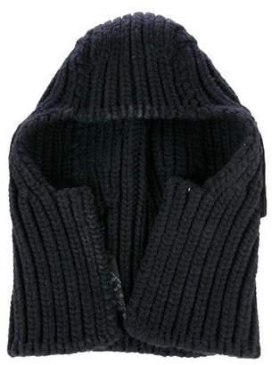 Prada Wool & Cashmere-Blend Beanie