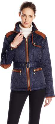 Vince Camuto Outerwear Women's Quilted Barn Jacket