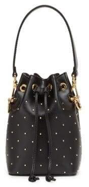 Fendi Mon Tresor Micro Studded Bucket Bag