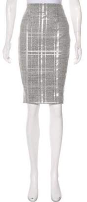Elizabeth and James Printed Knee-Length Skirt