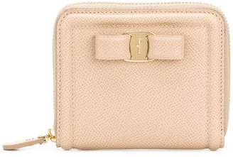 Salvatore Ferragamo zip around Vara wallet