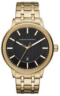Armani Exchange Street Maddox Analog Bracelet Watch