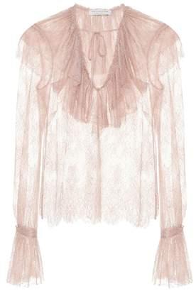 Philosophy di Lorenzo Serafini Lace blouse