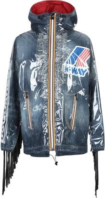 DSQUARED2 x K-WAY Overcoats