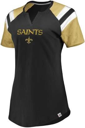 Majestic Women's New Orleans Saints Ultimate Fan Tee