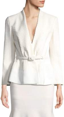 Carolina Herrera Women's Belted Blazer