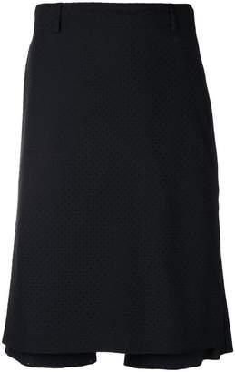 Fendi polka dot skirt front shorts