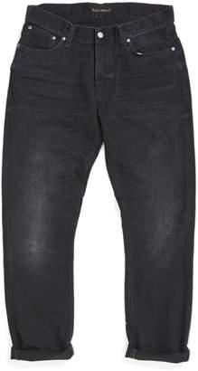 Nudie Jeans Dude Dan Worn Rigid Jeans Black