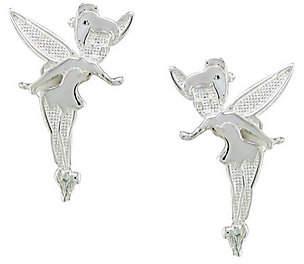 Disney Sterling Silver Tinker Bell Stud Earrings $26.50 thestylecure.com
