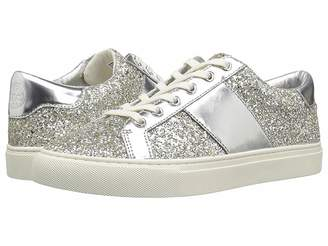 Tory Burch Carter Glitter Lace-Up Sneaker