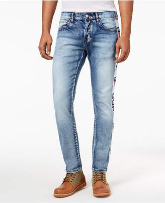 Dope Men's Slim-Fit Side-Stripe Jeans