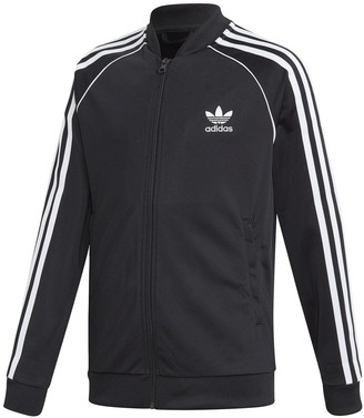 adidas Zip-Up High Neck Sweatshirt, 7-14 Years