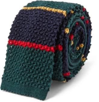 Ralph Lauren Knit Wool Tie