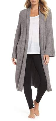 Barefoot Dreams R) CozyChic(TM) Lite Cross Creek Long Cardigan