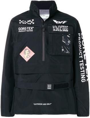 Off-White Goretex anorak jacket
