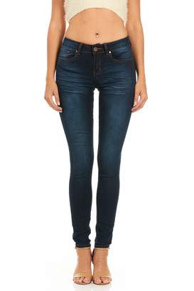 Cover Girl Junior's Mid Rise Slim Fit Stretchy Skinny Jeans