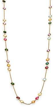 Marco Bicego Women's Mini Jaipur Semi-Precious Multi-Stone Long Station Necklace