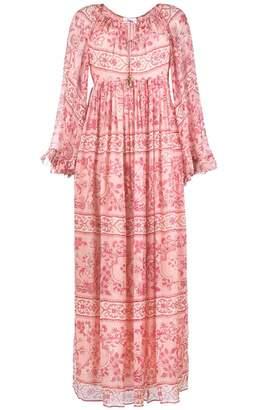 Zimmermann Castile Floral-print Silk-chiffon Dress