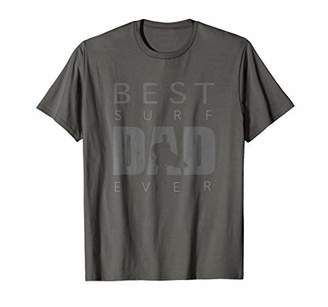 Mens Best Surf Dad Ever Vintage Surf Shirt