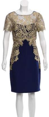 Marchesa Embellished Cocktail Dress