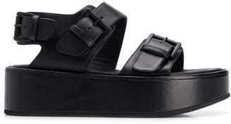 Ann Demeulemeester Vacchetta platform sandals