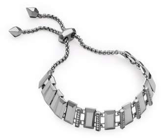 Kendra Scott Harp Adjustable Chain Bracelet in Hematite
