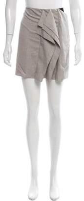 Diane von Furstenberg Allison Mini Skirt grey Allison Mini Skirt