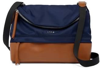 Lodis Nylon & Leather Under Lock & Key Kate RFID Travel Crossbody Bag