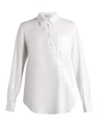 Altuzarra Garcia Asymmetric Fastening Blouse - Womens - White
