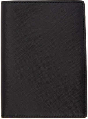 Common Projects Woman by Black Saffiano Passport Holder
