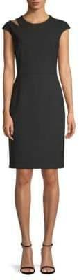 BOSS Danouk Cutout Sheath Dress