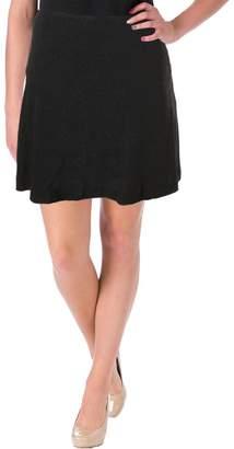 Kensie Womens Textured Pattern Mini Skirt L