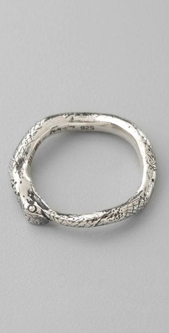 Elizabeth And James Snake Stack Ring
