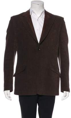 Dolce & Gabbana Herringbone Two-Button Blazer