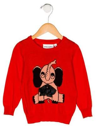 Mini Rodini Girls' Intarsia Knit Sweater