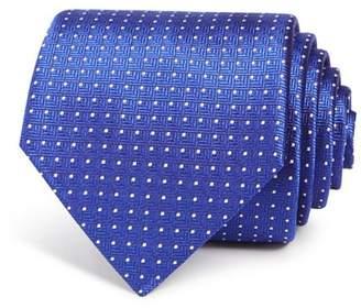 Emporio Armani Corner Dotted Square Classic Tie