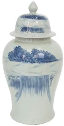 Large Cumulus Ceramic Ginger Jar